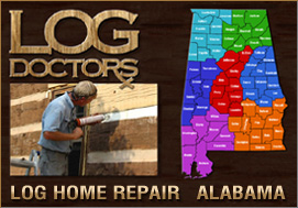 Log Home Repair Alabama