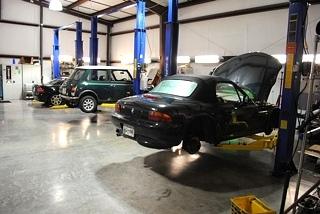 BMW  Suspension Upgrades and Repair - Knoxville, Tennessee