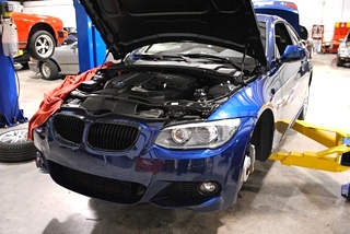BMW Valley pan replacement