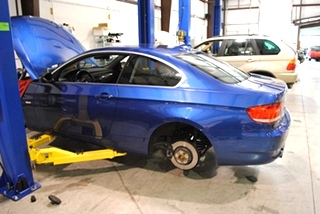 BMW Brake Repair - Knoxville, Tennessee