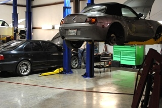 BMW Convertible Repair Knoxville, Tennessee