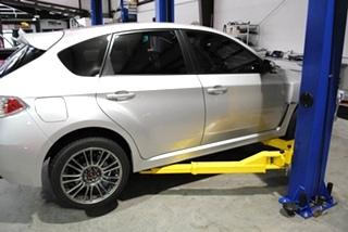 EuroHaus MotorSportsoffers Subaru STI Corner Balancing and Alignment