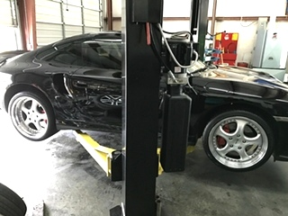 Porsche 996 Turbo Oil Service Knoville TN